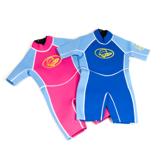 986 wetsuits pink & sky blue royal&sky blue