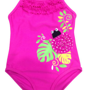 AG1316 Pink bug swimsuit