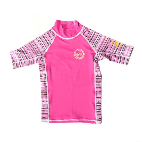 APST Aztec Pink short sleeved top