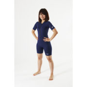AS Adult sunsuit plain navy