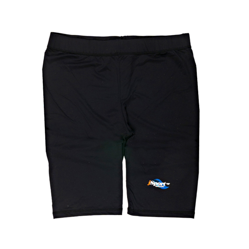 ASB Adult black jammer shorts