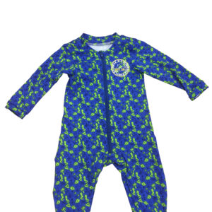 BR Baby romper beach blue