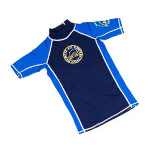 BSS Short sleeve top navy & royal