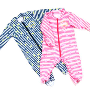 DBR Dolphin baby UV rompers