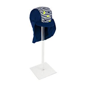 BABY HAT DOLPHIN NAVY/STRIPE