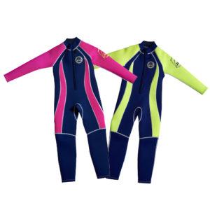 N - FW Full length wetsuit navy pink p18