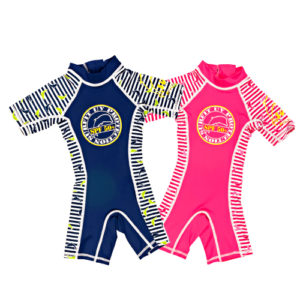 P -DSN Sunsuit dolphin blue