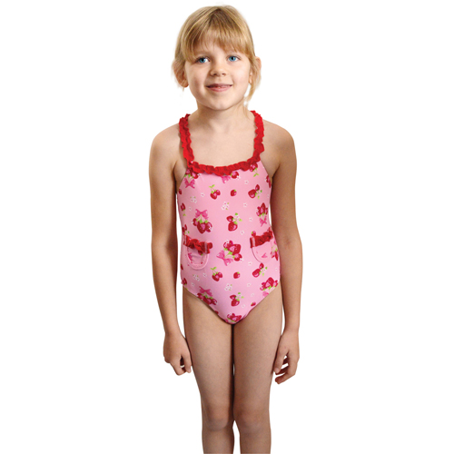 SEGS Swimsuit Bow-Berry
