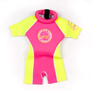 SFNP Swimsafe floatsuits neoprene pink and yellow