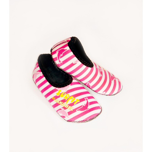 SSDP Dolphin stripe shoes pink