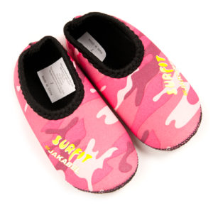SWIM SHOES PINK CAMO