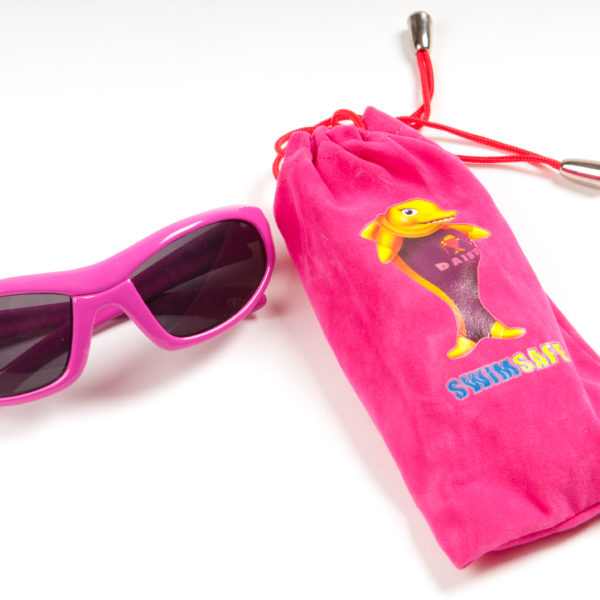 SSP sunglasses pink with cover