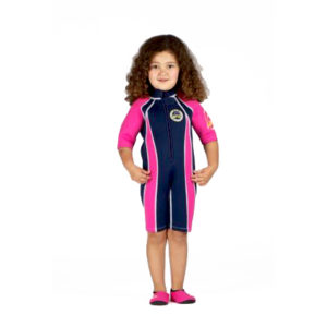 SWFP Wetsuit navy and pink