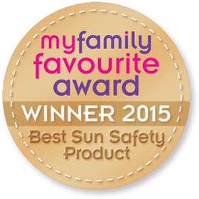Winner of the Best Sun Safety Product 2015 award - Jakabel